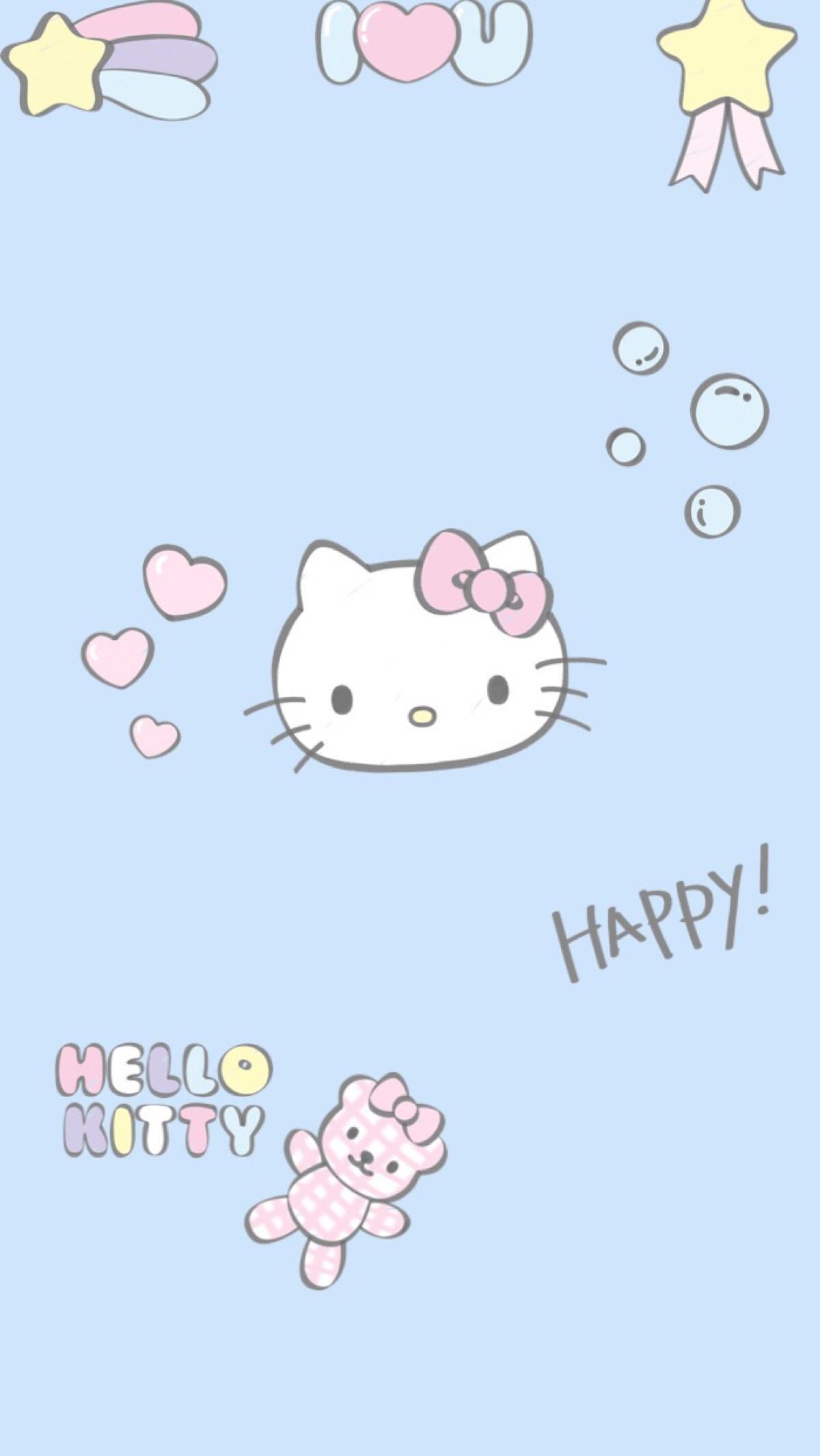 HelloKitty粉粉手机壁纸