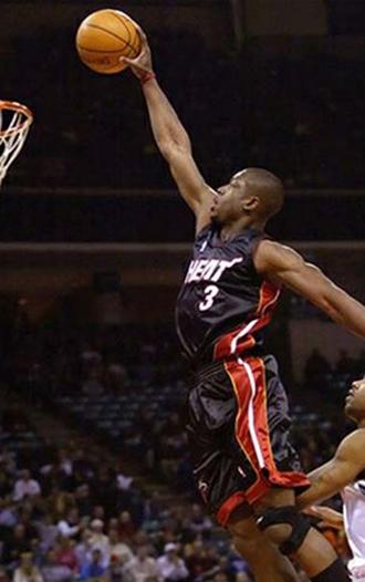 篮球明星韦德Wade手机壁纸