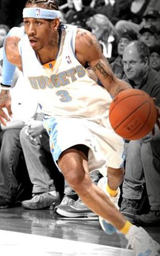篮球明星艾弗森手机壁纸