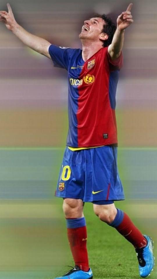 足球明星梅西手机壁纸