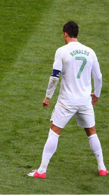 足球明星罗纳尔多C罗手机壁纸