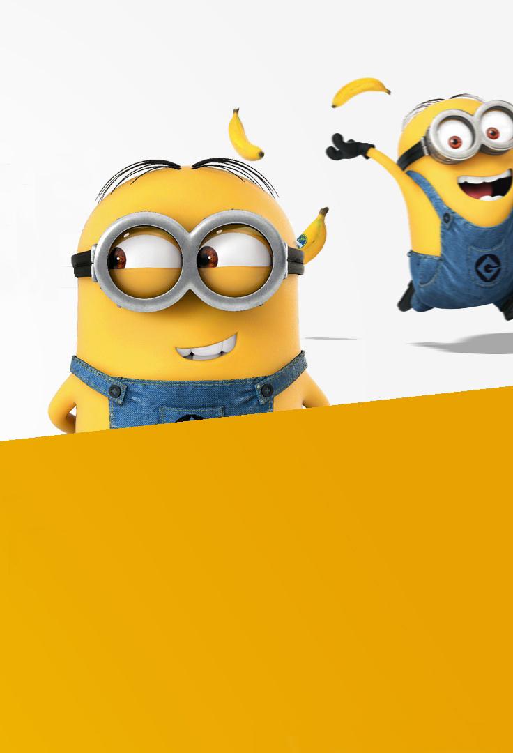 小黄人搞笑手机壁纸