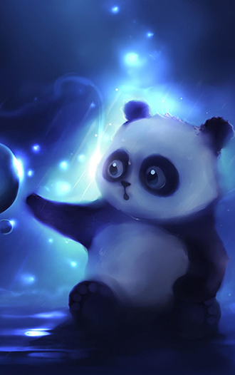 可爱的大熊猫手机壁纸