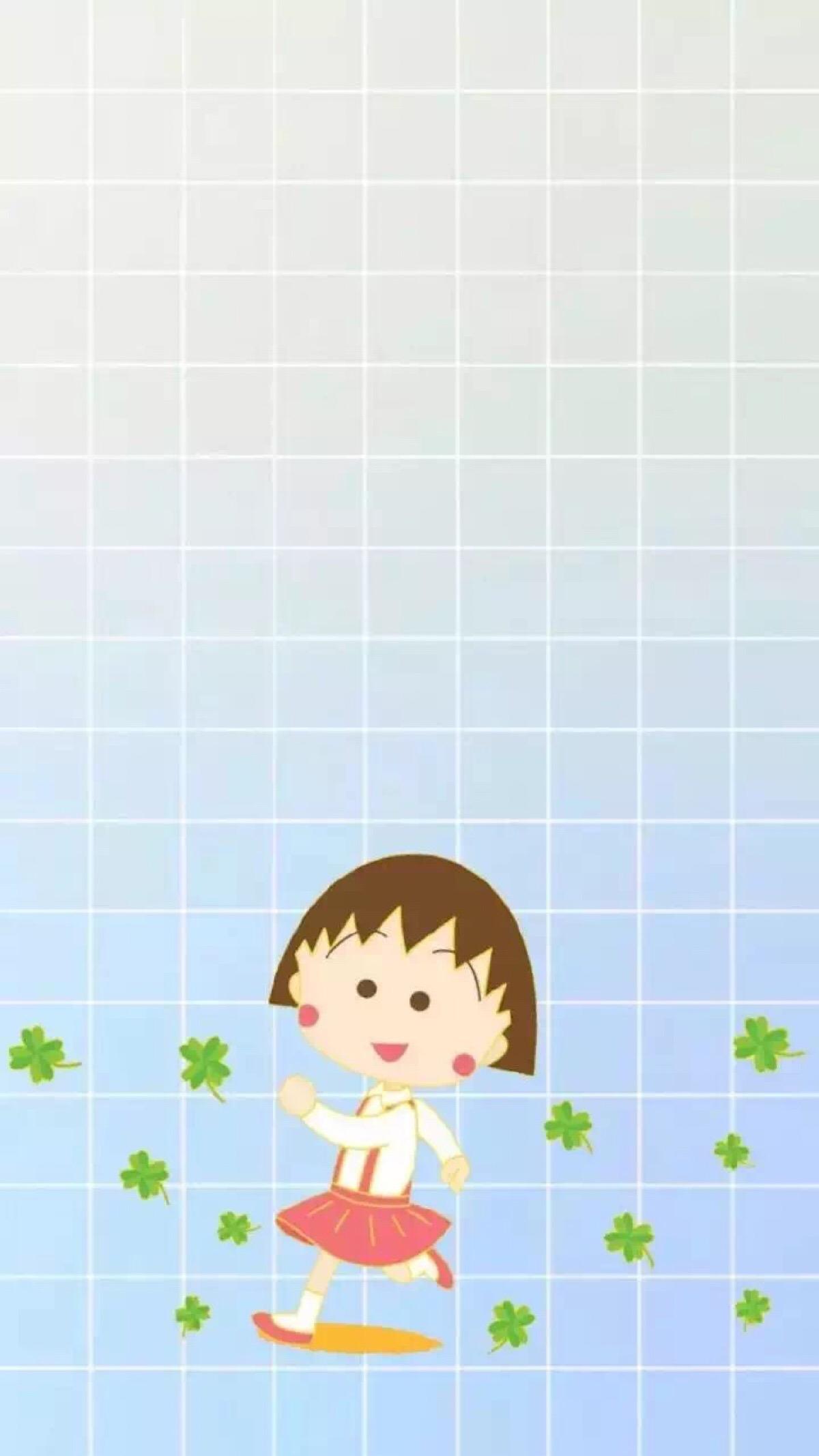 樱桃小丸子iphone壁纸