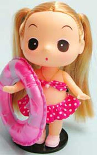 可爱的迷糊娃娃手机壁纸