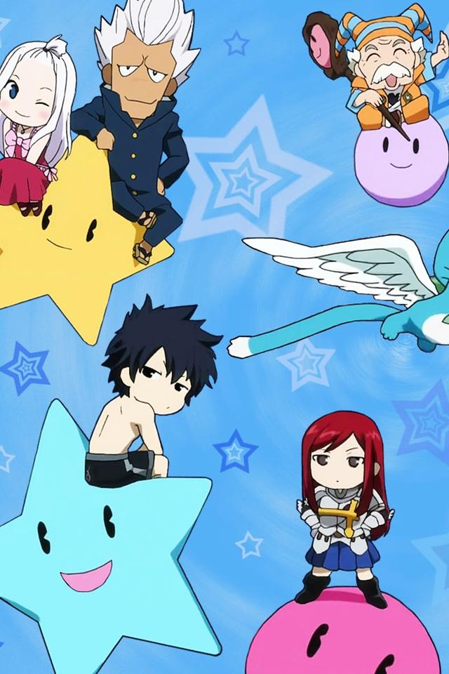 日本漫画妖精的尾巴角色手机壁纸