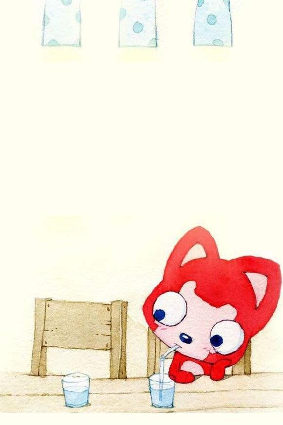 妖精阿狸桃子手机壁纸