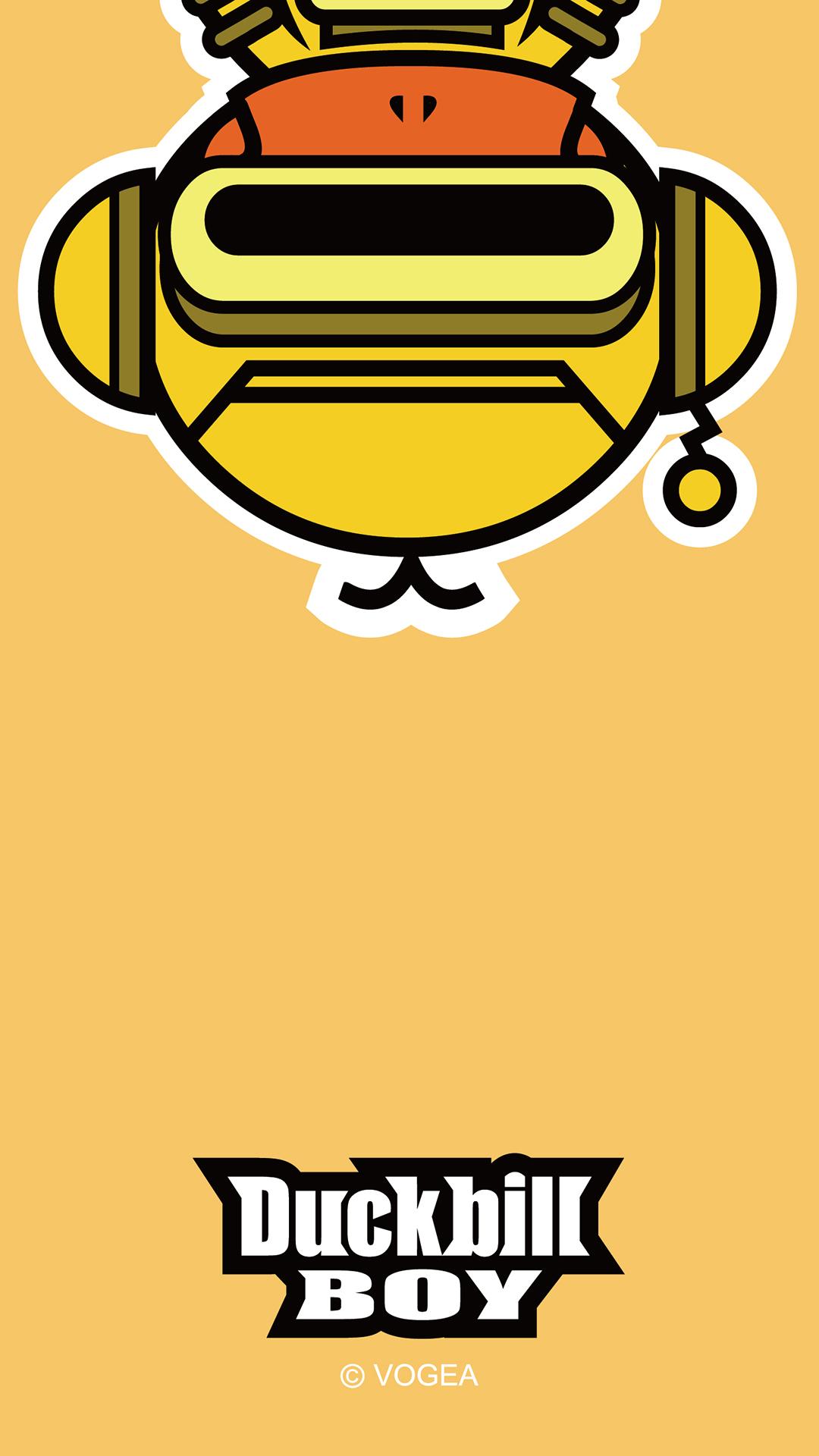 鸭嘴兽卡通机甲系列手机壁纸