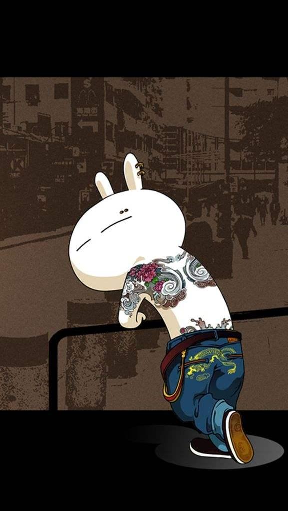 兔斯基动漫手机壁纸