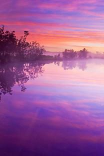 湖光风景自然手机壁纸
