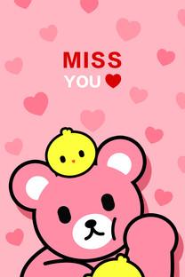 Luca熊 卡通手机壁纸