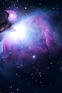 太空星云锁屏竖图手机壁纸
