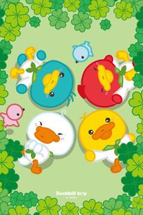 鸭嘴兽宝贝六一儿童节壁纸