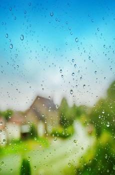 唯美下雨天手机壁纸