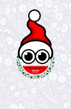 章小漫 漫迷 圣诞壁纸