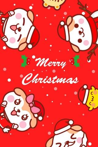 秋田君圣诞乐虎国际手机客户端壁纸