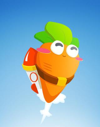 保卫萝卜可爱手机壁纸
