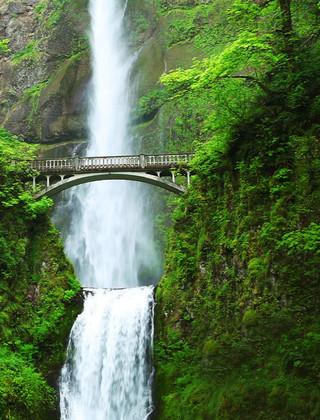 壁纸 风景 旅游 瀑布 山水 桌面 320_420 竖版 竖屏 手机