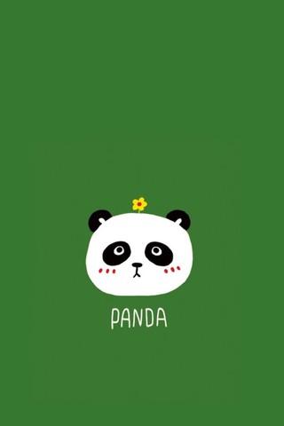 可爱熊猫手机壁纸 第42页-zol手机壁纸