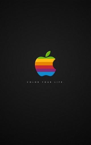 最新個性設計的蘋果logo壁紙 第6頁-zol手機壁紙