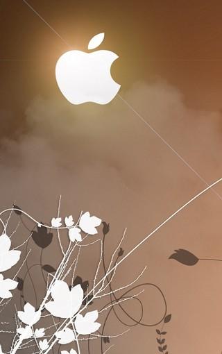 最新個性設計的蘋果logo壁紙 第9頁-zol手機壁紙