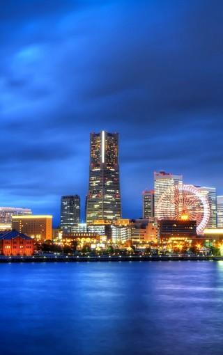 城市背景素材竖版
