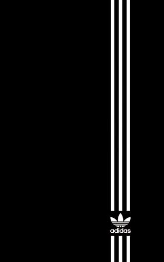 hone 5S阿迪达斯创意LOGO手机壁纸