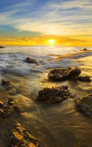 日落夕阳风景壁纸