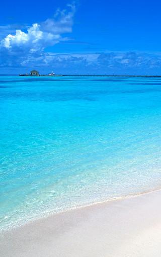 唯美海岛风景手机壁纸