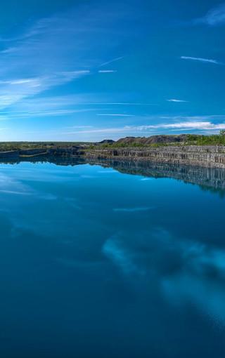 蓝色风景高清手机壁纸