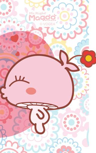 蘑菇点点mogoo可爱手机壁纸