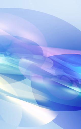 缤纷蓝色系手机壁纸