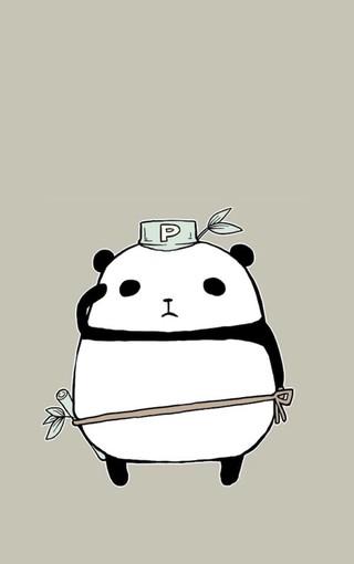 可爱熊猫手机壁纸 第31页-zol手机壁纸