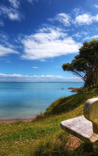 郊外风景新西兰风光壁纸