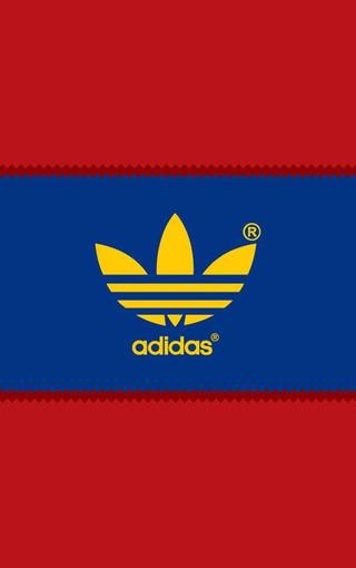 adidas个性logo标志壁纸