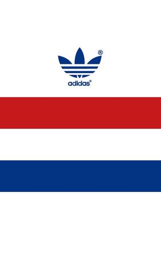 adidas个性logo标志壁纸 ZOL手机壁纸