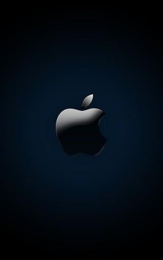 黑色苹果logo壁纸下载