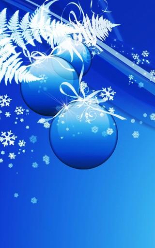 彩球圣诞节壁纸下载