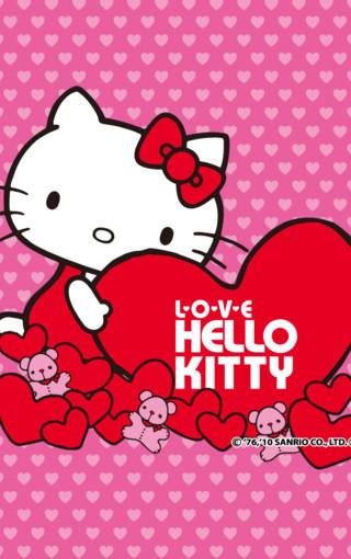 hello kitty粉色系手机壁纸