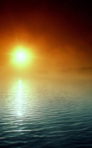 日出日落風景手機壁紙