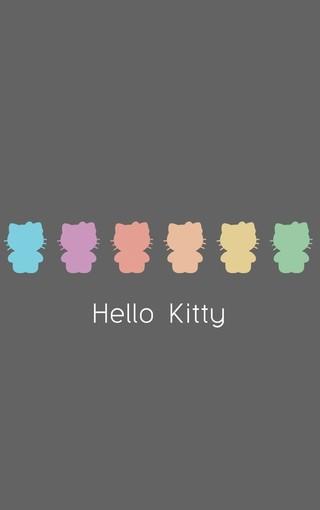 可爱hello kitty苹果手机壁纸