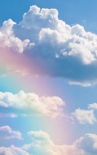夏天的彩虹高清手机壁纸