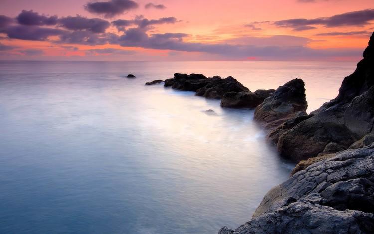 风景壁纸 自然风景壁纸 海滨海岸梦幻高清手机壁纸   (12/30)