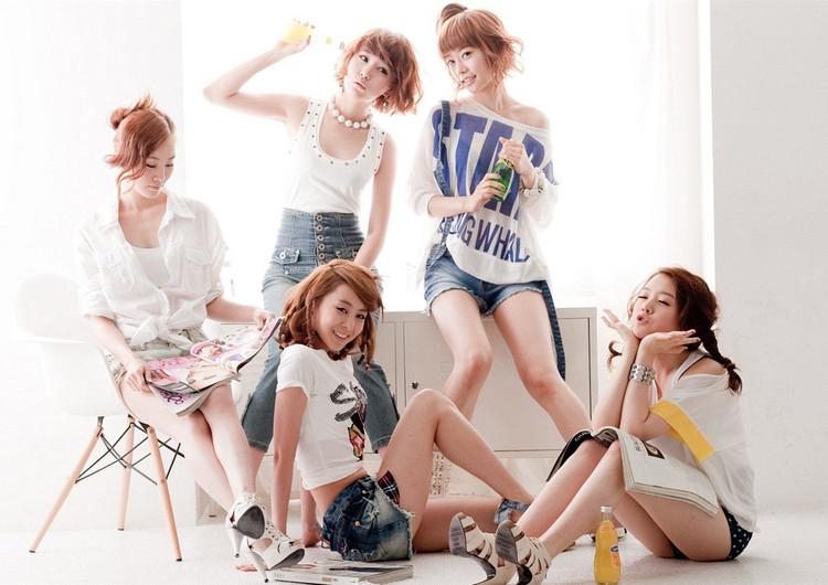 韩国组合girls day宽屏手机壁纸