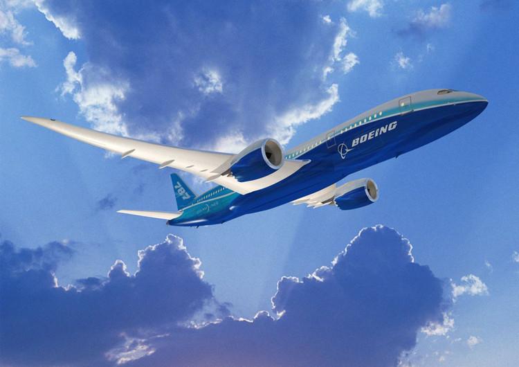 波音787梦想飞机手机壁纸
